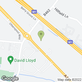 Map of Hilton Watford Hotel in Watford, hertfordshire