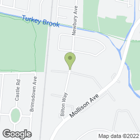 Map of Edwards Plant & Tool Hire in Enfield, middlesex