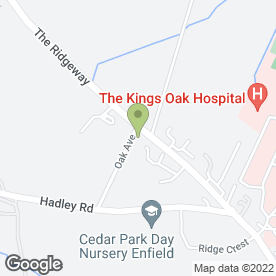 Map of AK Carpet Fitters in Enfield, middlesex