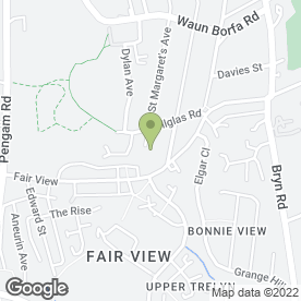Map of Blackwood Plumbing & Heating in Cefn Fforest, Blackwood, gwent