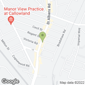 Map of Carpet Supermarket in Watford, hertfordshire