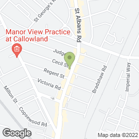 Map of Medivet Watford- 24Hr Continuous Care And Emergency Centre in Watford, hertfordshire