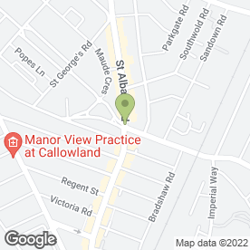 Map of Capel Carpets Ltd in Watford, hertfordshire