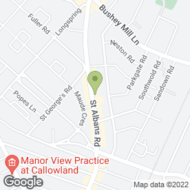 Map of Twilight Zone Engineering Ltd in Watford, hertfordshire