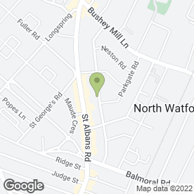 Map of SWEET DREAMS NANNY AGENCY in WATFORD, hertfordshire