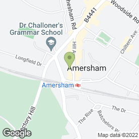 Map of Beauty at No.4 in Amersham, buckinghamshire