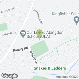 Map of Shelving Solutions in Abingdon, oxfordshire