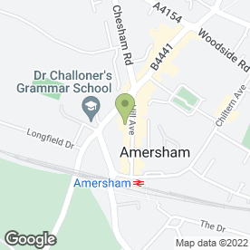 Map of Amersham Kebab Shop in Amersham, buckinghamshire