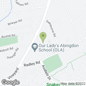 Map of Interpart Motor Spares in Abingdon, oxfordshire