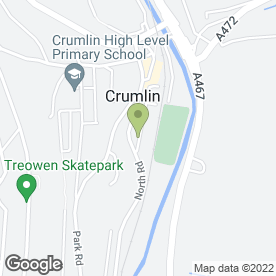 Map of Crown Lodge Residential Home in Crumlin, Newport, gwent