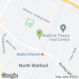 Map of Pickfords Business Solutions in Watford, hertfordshire