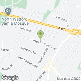 Map of Handers Courier Services in Watford, hertfordshire