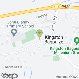 Map of Mike's Driving School in Kingston Bagpuize, Abingdon, oxfordshire