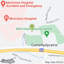 Map of Neat Feet Mobile Chiropody & Podiatry Clinic in Cwmrhydyceirw, Swansea, west glamorgan