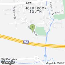 Map of Esders Ltd in Waltham Cross, hertfordshire