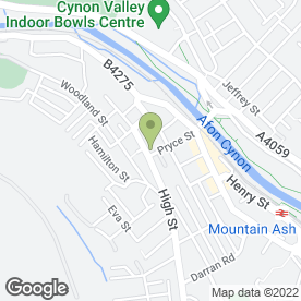 Map of Dr Joseph Skaria Surgery in Mountain Ash, mid glamorgan