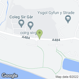 Map of Gibson & Jones in Llanelli, dyfed