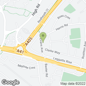 Map of KSS Plumbing & Heating in Watford, hertfordshire