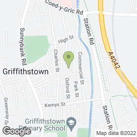 Map of Mrs Bouquets in Cwmbran, gwent