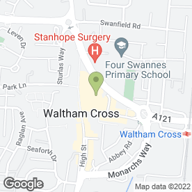 Map of Specsavers Hearing Centres in Waltham Cross, hertfordshire