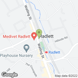 Map of Totally Physio in Radlett, hertfordshire
