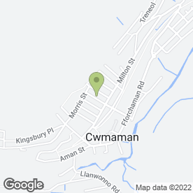 Map of Gourmet Buffet in Cwmaman, Aberdare, mid glamorgan