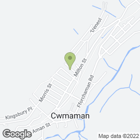 Map of HAIR, MAKE-UP 'N' MANICURE in Cwmaman, ABERDARE, mid glamorgan