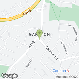 Map of Adam Gray Hairdressing-Spray Tan-Beauty in Watford, hertfordshire