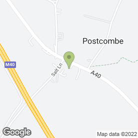 Map of D.TECH MOTORCYCLES in Postcombe, Thame, oxfordshire