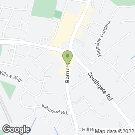 Map of The Dolls House Sauna in POTTERS BAR, hertfordshire