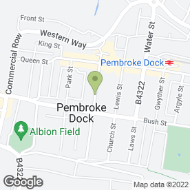 Map of Tech Squad IT in Pembroke Dock, dyfed