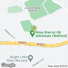 Map of Vue Cinema in Watford, hertfordshire