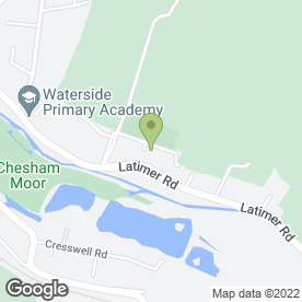 Map of APT Interiors Ltd in Chesham, buckinghamshire