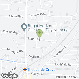Map of C & C Removals in Cheshunt, Waltham Cross, hertfordshire