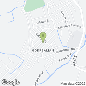 Map of Commercial Kitchen Maintenance Ltd in Aberdare, mid glamorgan