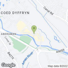 Map of FLOORING MASTERS WALES in Aberdare, mid glamorgan