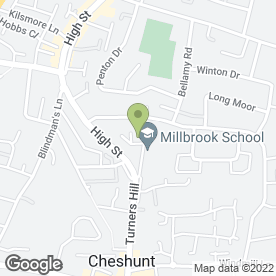 Map of Chris King School Of Motoring in Cheshunt, hertfordshire