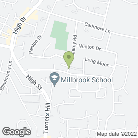 Map of MGD Transport Ltd in Cheshunt, Waltham Cross, hertfordshire