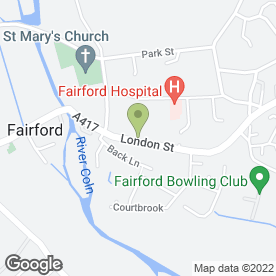 Map of Curry King in Fairford, gloucestershire