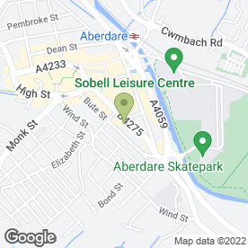 Map of AMAZING GLAZING (WALES) in Aberdare, mid glamorgan