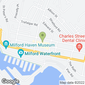 Map of Royal Dragon in Milford Haven, dyfed