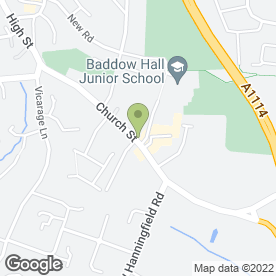 Map of JDS Residential Ltd in Great Baddow, Chelmsford, essex