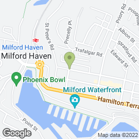 Map of Classical Beauty Therapy in Milford Haven, Pembrokeshire, dyfed