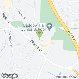 Map of Baddow Antique Centre in Great Baddow, Chelmsford, essex