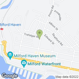 Map of Pearce Printers in Milford Haven, dyfed