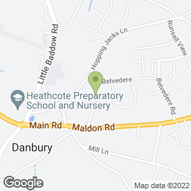 Map of Danbury Plant Hire in Danbury, Chelmsford, essex
