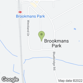 Map of Lisa O'Connor in Brookmans Park, Hatfield, hertfordshire
