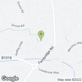 Map of Falcon Audio Ltd in Maldon, essex