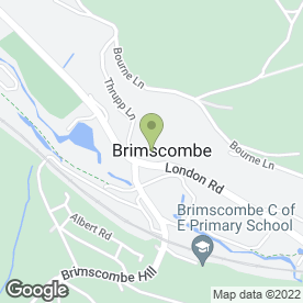 Map of CARPET HOTLINE SUPERSTORE in Brimscombe, Stroud, gloucestershire