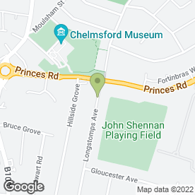 Map of Resincraft Ltd in Chelmsford, essex